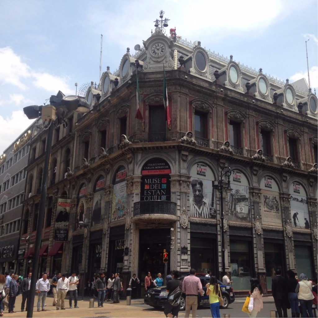 literary tour of the historic centre mexico city